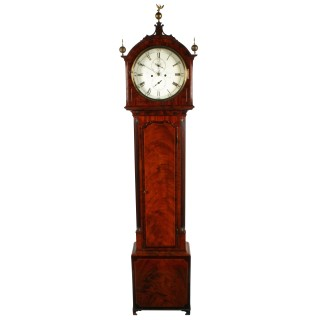 Georgian Quarter Strike Grandfather Clock