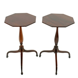 Pair of Regency Style Kettle Stands