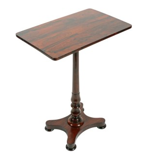 William IV Rosewood Lamp Table