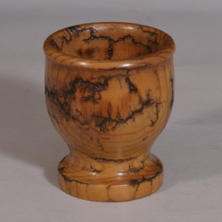 Antique Treen Edwardian Pine Bowl
