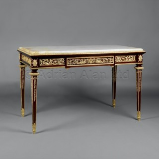 A Fine Gilt-Bronze Mounted Mahogany Centre Table