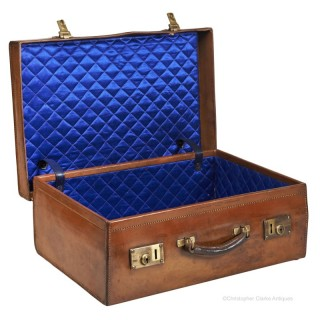 Leather Suitcase by Forsyth