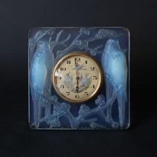 'Inseparables' Clock