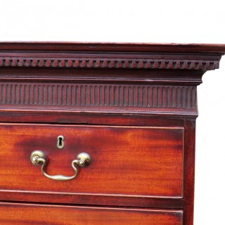 Georgian Mahogany Antique Tallboy/Chest On Chest