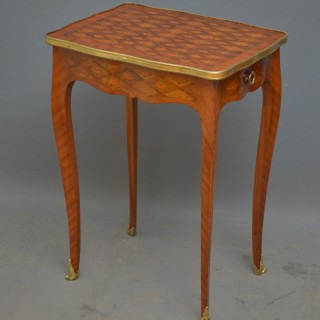 Fine Continental Occasional Table in Kingwood