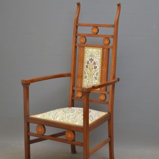 Arts And Crafts Mahogany Chair