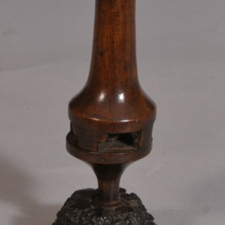 Antique Treen 19th Century Fruitwood Part of a Swift