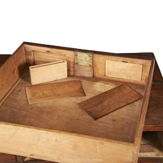 Campaign Chest With Secret Drawers