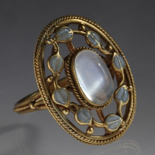 JESSIE MARION KING (1875-1949) LIBERTY & CO Arts & Crafts Ring