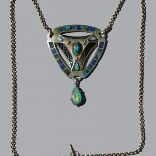 CONRAD ANTON BEÜMERS (1837-1921) Reuleaux Triangular Pendant