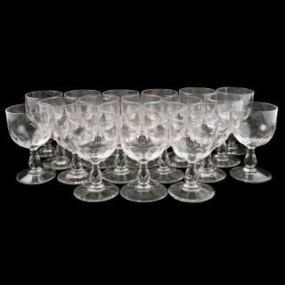 Set of Twenty 19th Century Rummers