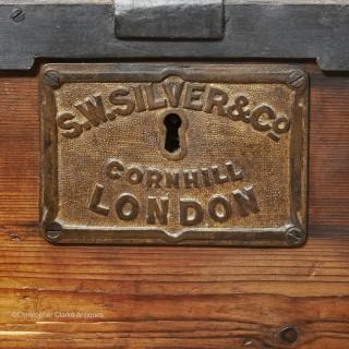 S.W. Silver Campaign Trunk