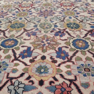 Unusual Malayer carpet