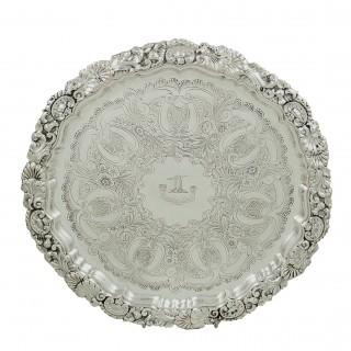 Heavy Antique Edwardian Sterling Silver 12