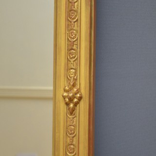 Superb early 19th Century Giltwood Pier Mirror