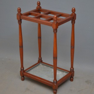 Arts and Crafts Mahogany Umbrella Stand