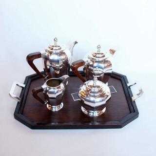 Art Deco Silver Tea/Coffee Set