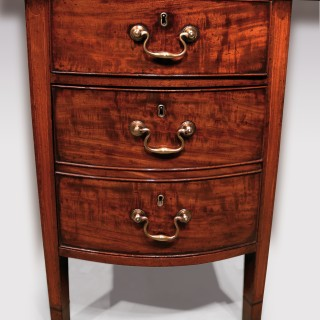 Late 18th Century Mahogany Serpentine Serving Table