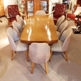 Art Deco 8 Seat Dining Suite