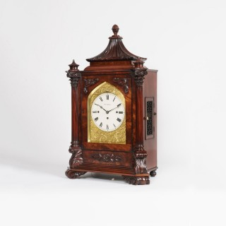 A Late Georgian Musical Table Clock
