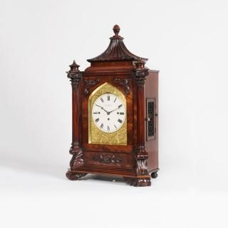 A Late Georgian Musical Table Clock