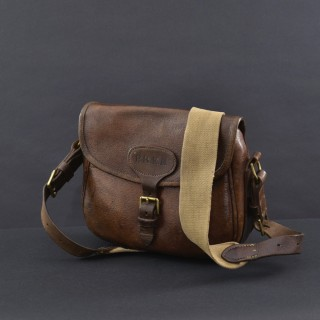 100 Size Leather Cartridge Bag