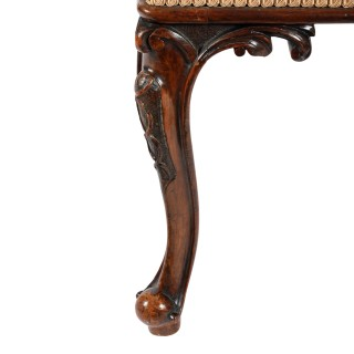 Victorian Cabriole Leg Stool