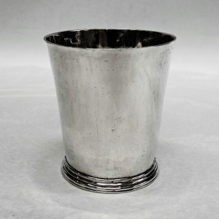 Antique Norwich Silver Beaker