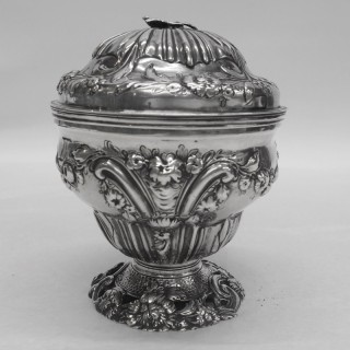 George III Silver Caddy