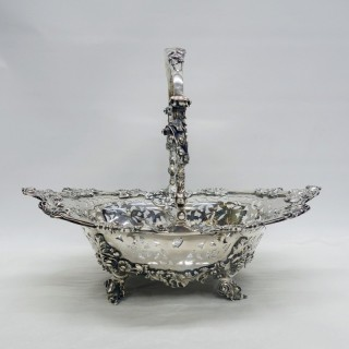 Antique Georgian Silver Basket