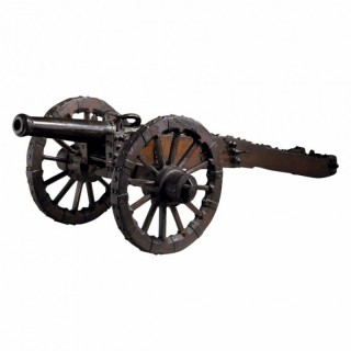 17TH CENTURY BRONZE FIELD GUN