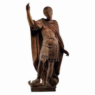 16TH CENTURY TERRACOTTA STATUE OF HANNIBAL BARCA