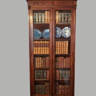 William IV mahogany bookcase.