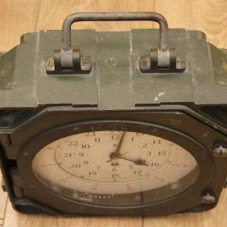 British Military Signal Centre Clock