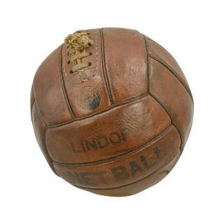 Leather Lindop Netball.