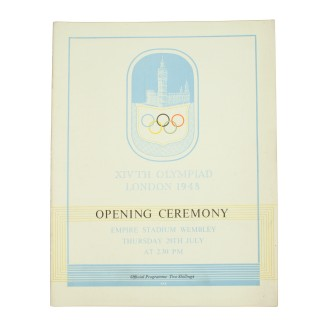 1948 London Olympic Opening Ceremony Programme