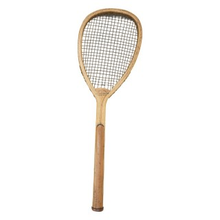 Lop Sided Lawn Tennis Racket