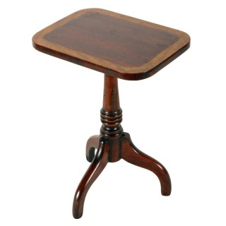 Miniature Mahogany Lamp Table