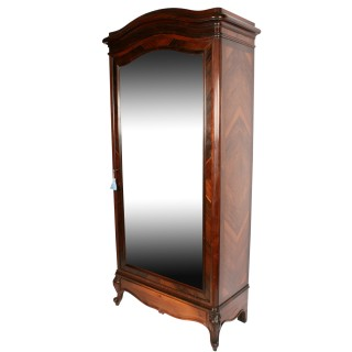 19th Century French Rosewood Armoire