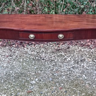 18th Century George III Period Mahogany Antique Serving Table