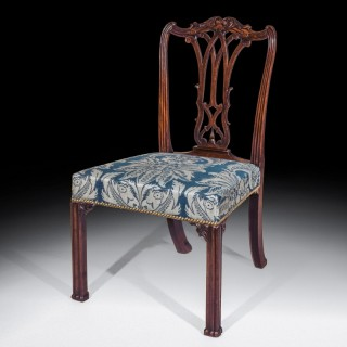 Fine Chippendale Period Mahogany Side Chair