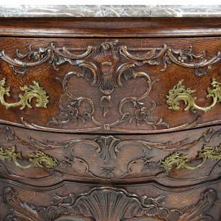 Pair Antique Venetian style commodes.