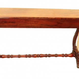 English Regency Mahogany Small Antique Console Table