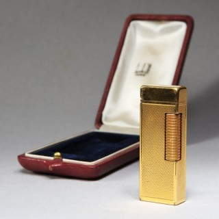 DUNHILL 1950'S BUTANE GOLD PLATED LIGHTER
