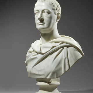 Marble Bust of an English Aristocrat