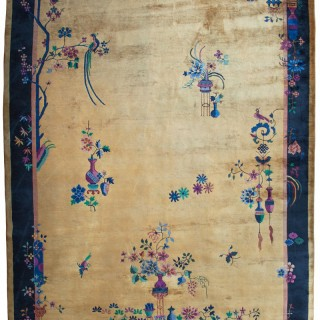 Art Deco Chinese carpet