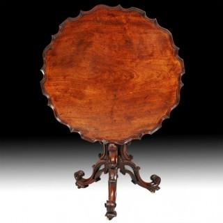 TRIPOD TABLE ATTRIBUTED TO JAMES ALLAN OF FREDERICKSBURG