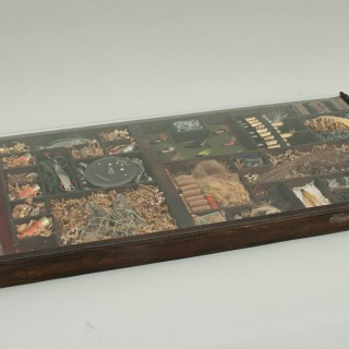 Printers Tray With Fishing Display
