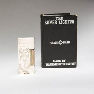THE SILVER LIGHTER – SHANGHAI DUNHILL MINI LIGHTER FACTORY – RARE