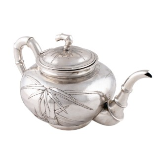 Chinese Silver Tea & Coffee Service